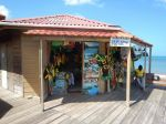 Shopping at the Craft Village Port Antonio Portland Jamaica